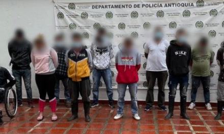 Cayeron 14 personas en operativos contra el Clan del Golfo en norte y occidente de Antioquia