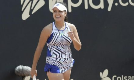 La tenista cucuteña María Camila Osorio asciende a la casilla 135 de la WTA