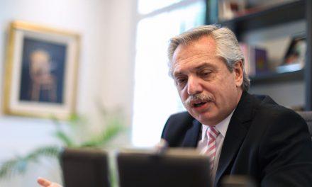 El presidente argentino da positivo para COVID-19