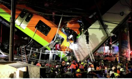 Al menos 23 muertos por desplome de puente del Metro en Ciudad de México [VIDEO]
