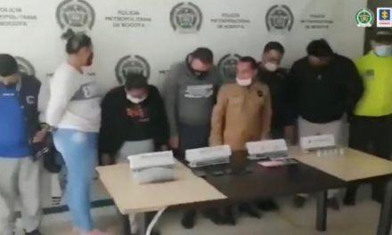 """Cae la banda """"Finlandia"""": Siete personas fueron capturadas por presunto microtráfico en Bogotá[VIDEO]"""