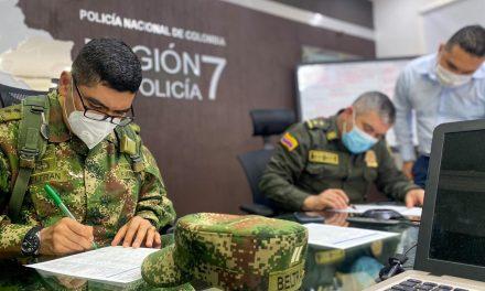 Con sobrevuelos , Ejército y Policía mantienen dispositivo de seguridad en el Meta [VIDEO]