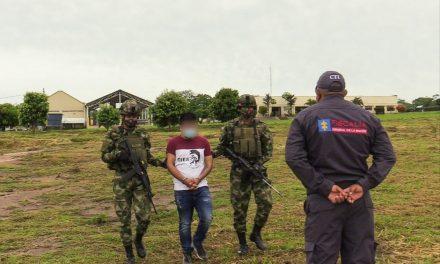 Capturado en el sur de Bolívar alias Orejas presunto cabecilla del Clan del Golfo