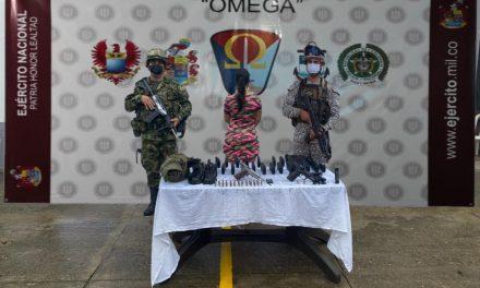 Hallan material de guerra en una vivienda de San Vicente del Caguán, Caquetá