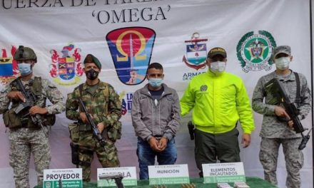 Cayó alias 'Mellizo', implicado en homicidio de dos excombatientes Farc en Guaviare [VIDEO]