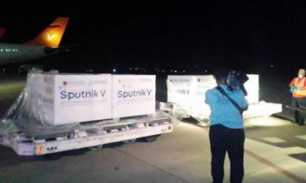 Arribó a Venezuela el sexto cargamento de la vacuna rusa Sputnik V [VIDEO]