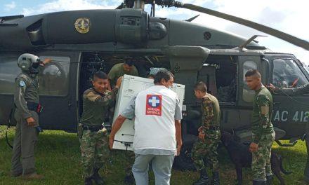 Fuerza Aérea Colombiana transportó insumos para el Hospital de La Macarena, Meta