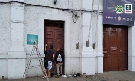 Así fue el acto de reparación y reconciliación por actos de vandalismo en Piedecuesta, Santander [VIDEO]