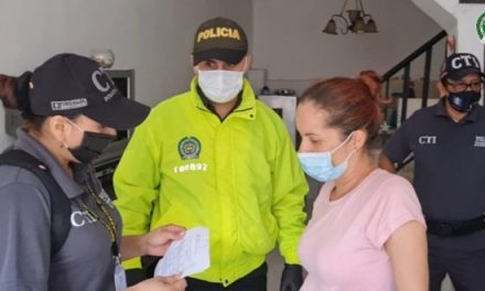 Capturada en Florencia presunta integrante de Las Asesoras