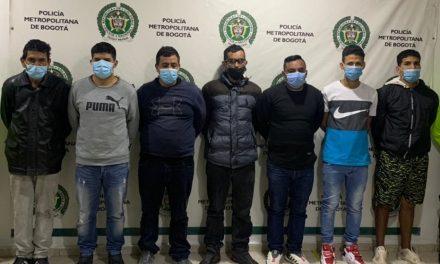 Impactado grupo delincuencial socios milenios por hurto en la modalidad de atraco en el centro de Bogotá