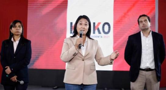 Fiscalía peruana investiga a Keiko Fujimori por lavado de activos en campaña de 2021