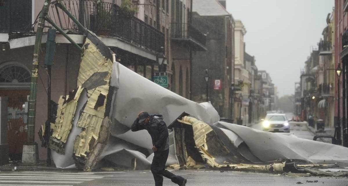 El huracán Ida en Nueva Orleans, Estados Unidos y los estragos tras su paso