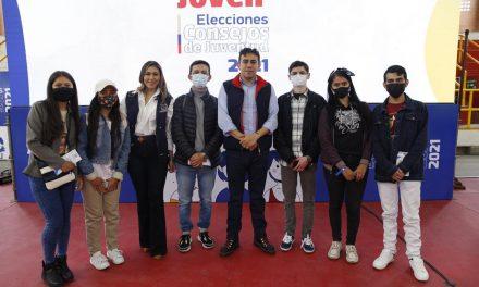 Con gira  se promueven los Consejos Municipales y Locales de Juventud