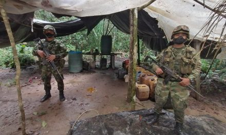 Desmantelan laboratorio que producía cocaina en Mapiripán, Meta