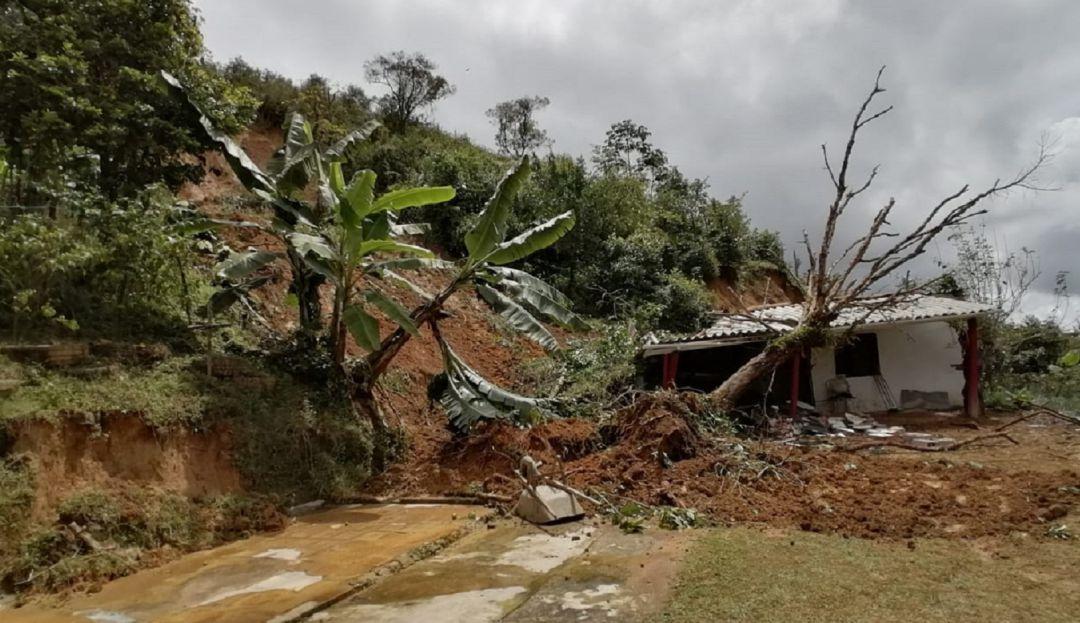 Alerta en Antioquia: Se han reportado 524 eventos asociados a las temporadas de lluvias, según el Consejo de Gestión de Riesgo