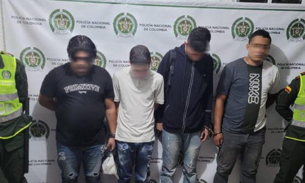 Ofensiva contra el hurto en Medellín dejó siete nuevas capturas: Duro golpe a estructuras criminales