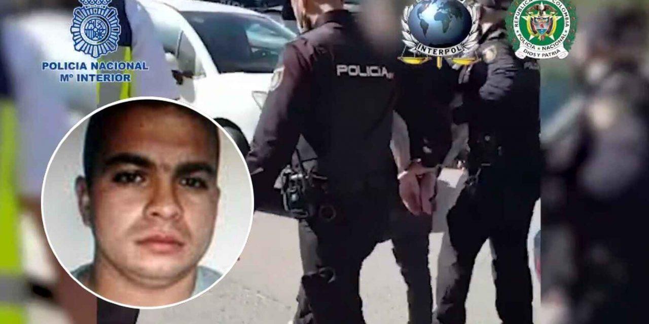 Colombia quiere agilidad en la extradición del peligroso jefe de sicarios 'El Nene', capturado en España