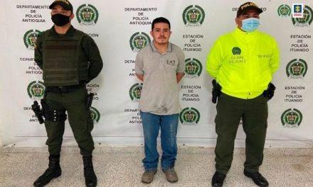A la cárcel presunto integrante de 'Los Mesa', investigado por homicidio de un menor en Ituango