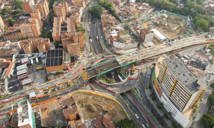 A buen ritmo avanzan los intercambios viales de la avenida 80 con las calles Colombia y San Juan
