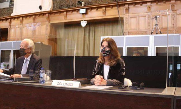 Vicepresidente Marta Lucía Ramírez viajó a La Haya para segunda ronda de alegatos ante Nicaragua, en la Corte Internacional de Justicia
