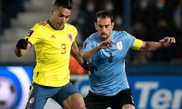Punto de oro: La Selección Colombia le sacó el empate a Uruguay de visita y sigue soñando con ir a Catar