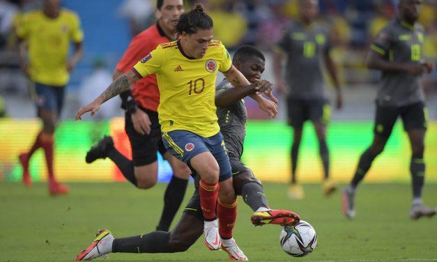 Con polémica: El juez Diego Haro le arrebató la victoria a Colombia frente a Ecuador, amargo 0-0 en el Metropolitano