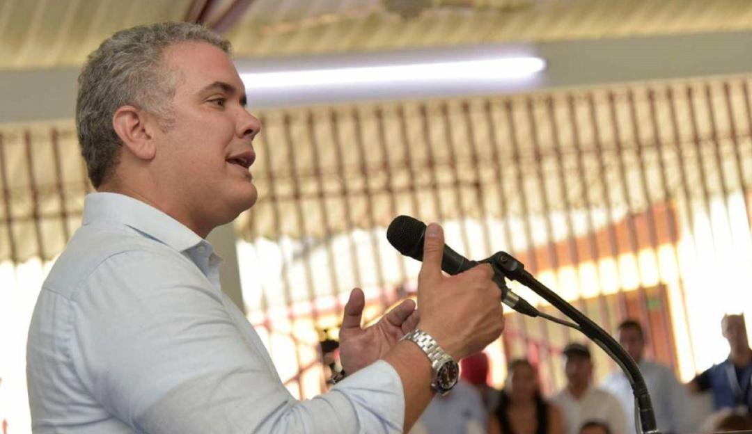 Iván Duque y una dura advertencia: «Mucho cuidado con los discursos que vienen con cantos de sirena desde la dictadura en Venezuela»
