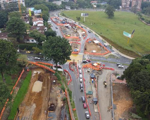 Desde este viernes habrá cierre total de la carrera 37A, para acelerar la obra de la avenida 34 con Loma de Los Balsos