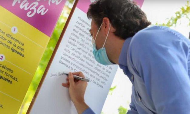 Se firmó en Medellín el Pacto por la Igualdad, en el marco de la celebración del Día de la Raza